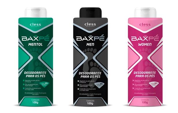 BAX lança desodorante em pó para pés com fragrância Aromaty
